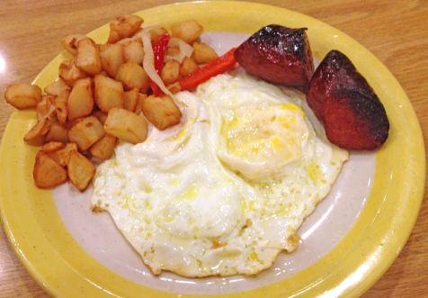 HomeTown Buffet Breakfast Menu