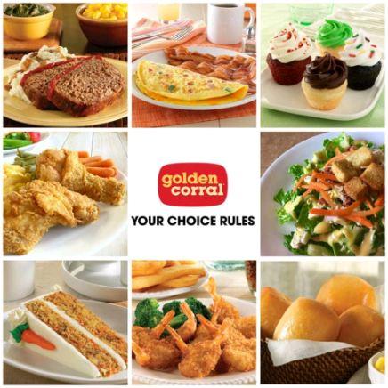 golden corral breakfast menu